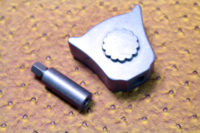 Cat's Head Pommel (Steel)